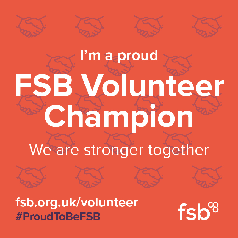 Twice Recognised FSB Volunteer Champion